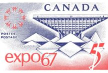 Canadian Postage Stamps / by Sabina Mugford
