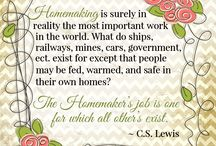 homemaking and housewifery