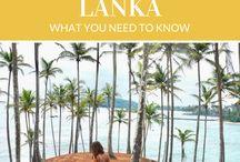 Sri Lanka Travel Inspiration / Inspiration for your Sri Lanka trip