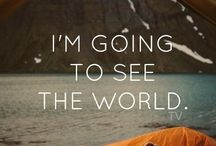 I'm going to see the world!