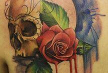 Watercolor tatto
