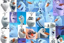 ❄️❄️❄️Olaf❄️and friends from Frozen ❄️❄️❄️ / by Jessica