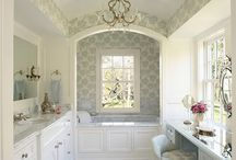 Dream Bathrooms / Dream bathrooms with beautiful vanities and make-up areas!