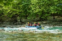 Rafting Voidomatis river, Zagori, Epirus, Greece