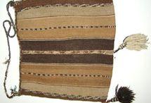Textiles precolombinos / Chuspa