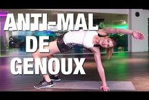 exercices genoux