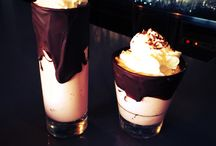 Konstantinos Garcia Pantelidis / Chocolate co glasses for milkshake or cold drinks