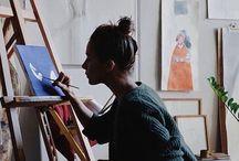 Life as an artist