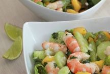 Crevettes (Salades
