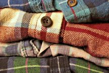 Signs Of Winter / Autumn leaves, flannel, cozy clothers