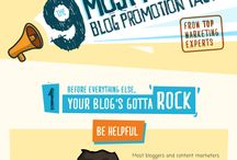 Blogging Infographics / by Barb Drozdowich