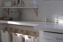 cuartos de lavado y planchado