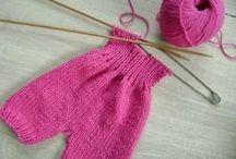 habits tricot poupee