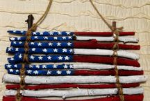 Americana / Show your spirit for the USA. Americana decorations, accessories and jewelry.  / by MP Designs Jewelry