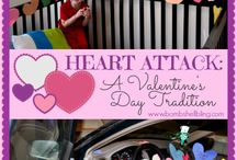 CELEBRATE: Valentine's Day / Hearts and flowers crafts and baking for small children. Bring a little love to their games.