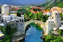 Bosnia / Inspirational board created before my trip to Bosnia planned for September this year