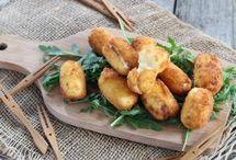 croquettes au kiri ou autres fromages fondus