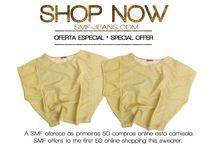 SHOP ONLINE / Veja a nova LOJA ONLINE DA SMF JEANS Look our SHOP ONLINE  www.smf-jeans.com