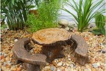 Fairy Garden Furniture for sale in Canada / Whimsical fairy furniture