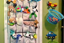 Organizador de brinquedos de tecido