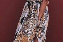 Boho kjoler