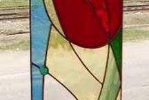 Vetri e finestre dipinti
