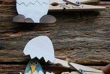 Clothespins crafts