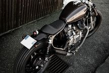 Bikes/cafe racers