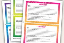 Education-Exit Slips