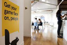 Office Wall Ideas / by Cat De Ville
