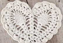 Crocheting-Hearts