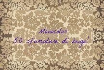 Monocolor - 50 sfumature di beige! / Il beige è da sempre il colore per eccellenza, il colore che ogni donna usa... in effetti è un colore molto versatile, che sta bene con tutto!  Ma avete mai pensato ad un total look beige? Ecco l'effetto!
