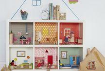 Casa muñecas casera