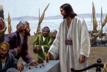 religijne: Maryja, Józef, nauczanie Jezusa, święci