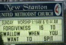 Church signs OMG