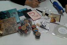 Embossing -powder & folders