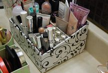 Rangement maquillage