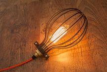 industrie verlichting / interieur ideeën / Bekijk ideeën voor verlichting thuis of op werk, gloeilampen industriële verlichting. bekijk alle producten in onze webshop http://www.foir.nl