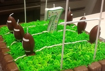 rugby birthday cakes