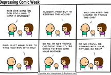 The Hip Hop Head's Favorite Cyanide & Happiness Comics / by Dee (The Hip Hop Head)