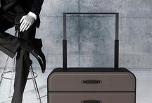 Dresser on wheels Suitcase