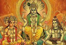 Deuses hindus.