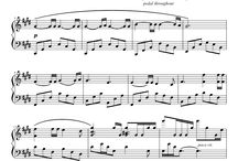 피아노 악보