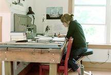 Artists - their natural habitats