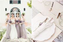 Lavender & Gold Weddings / by LinenTablecloth.com