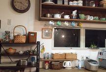 kitchen / 素敵収納