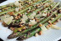 Grønne asparges