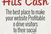 Hits-Cash / The best place to make your website Profitable o drive visitors to their social network profiles