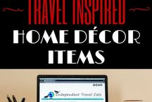 Travel Themed Home Decor
