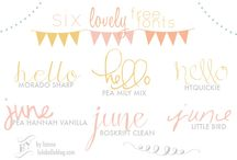 Fonts / by Pure Luxe Bride